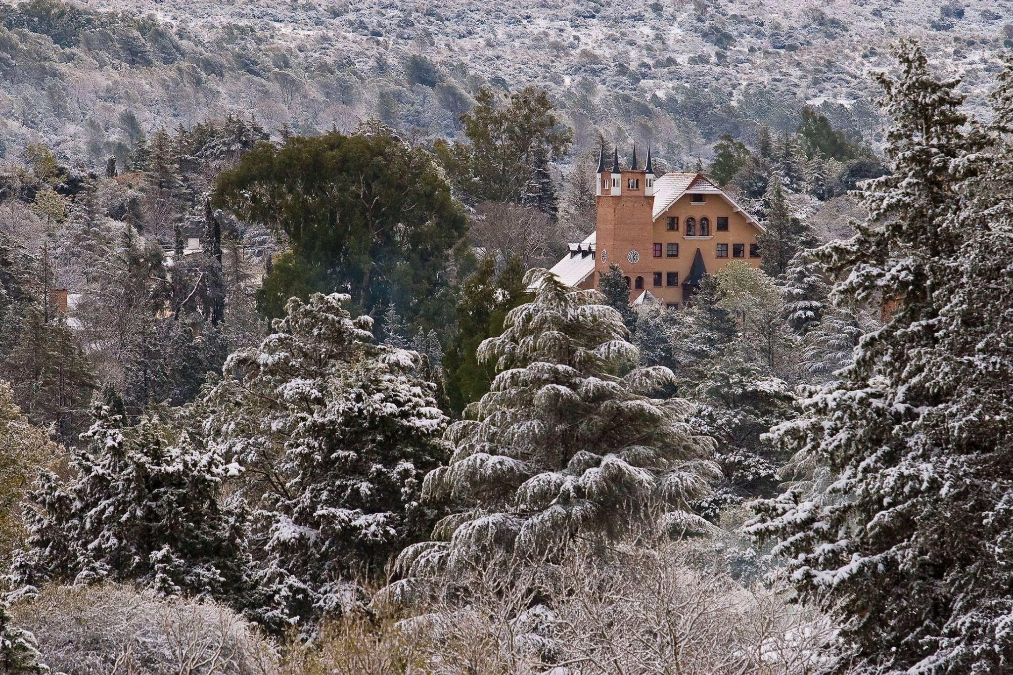Бельграно со снегом