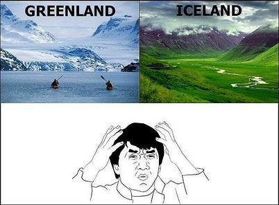 greenland iceland