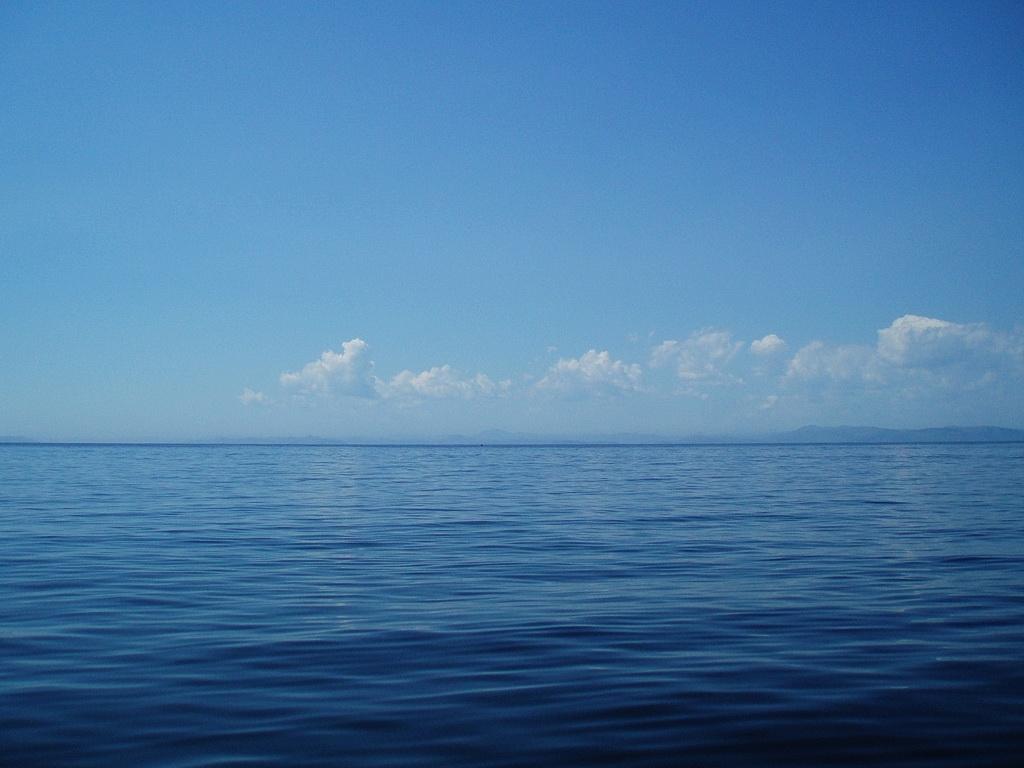 Бабье лето на море