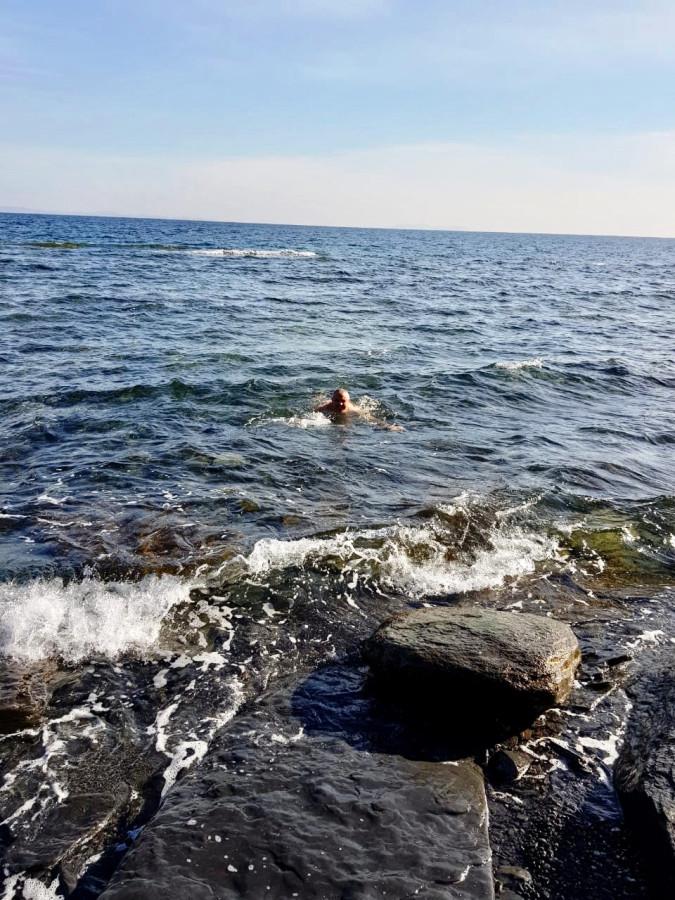 Причуды погоды или греем море...
