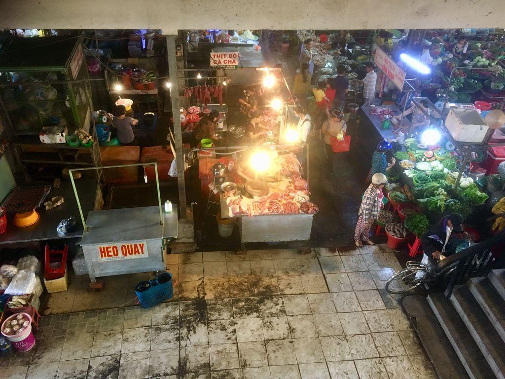 Рыбный рынок Кантхо