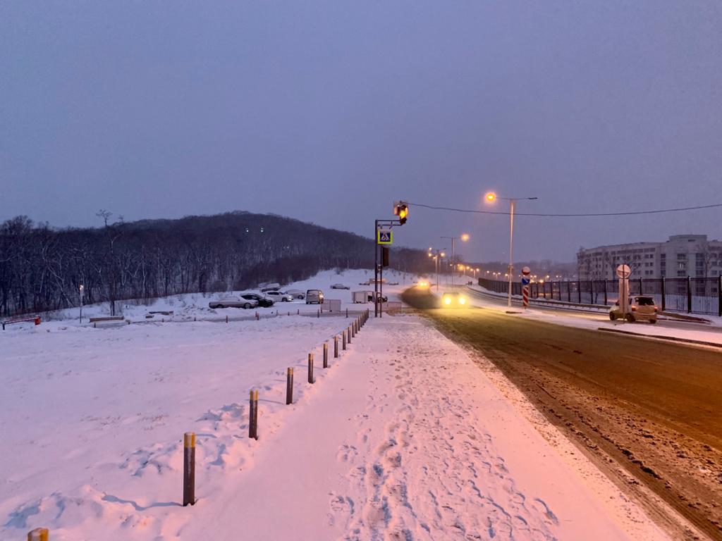 Опять снег...