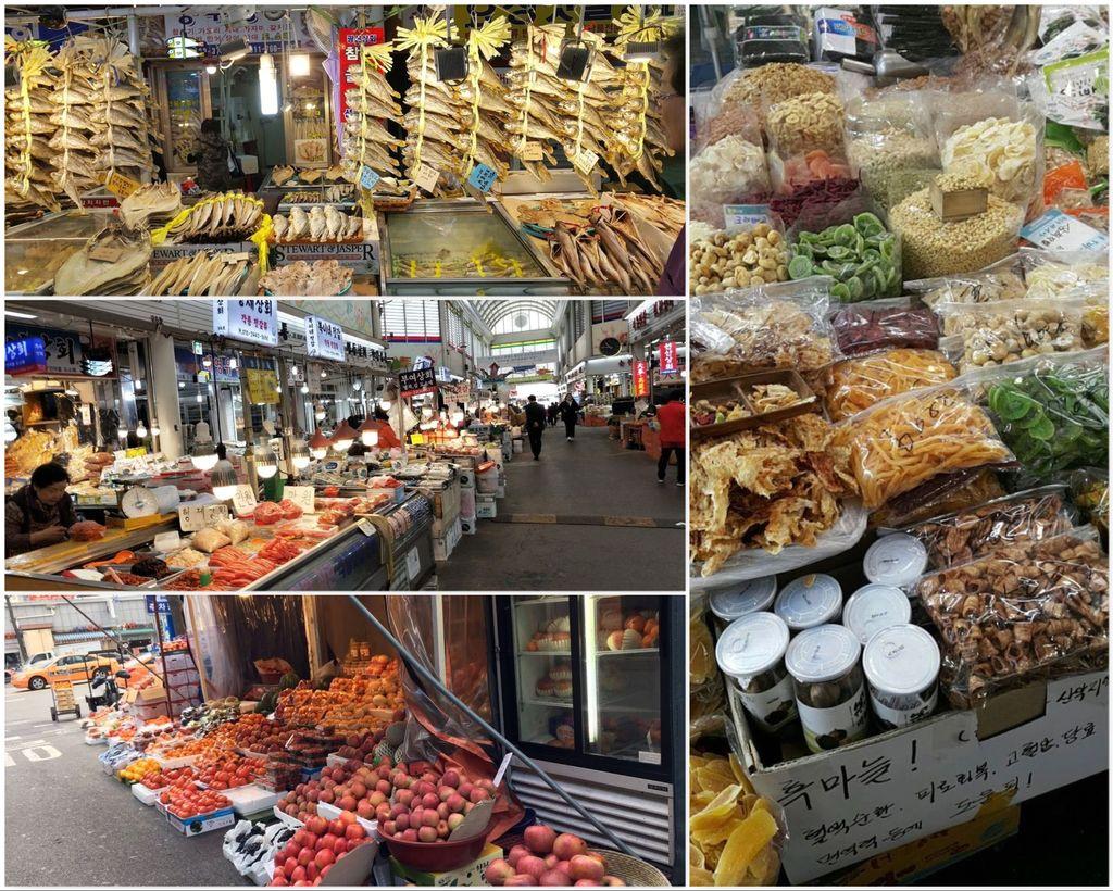 Рынок сушёных морепродуктов Чунбу