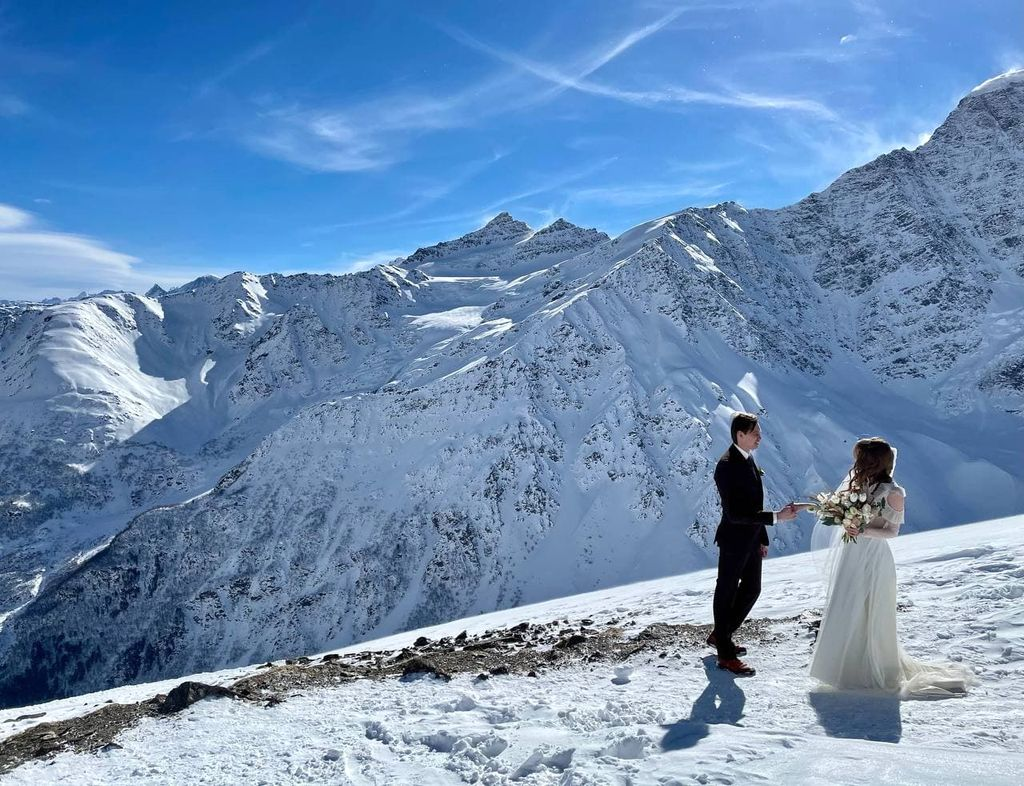 Свадьба на Эльбрусе