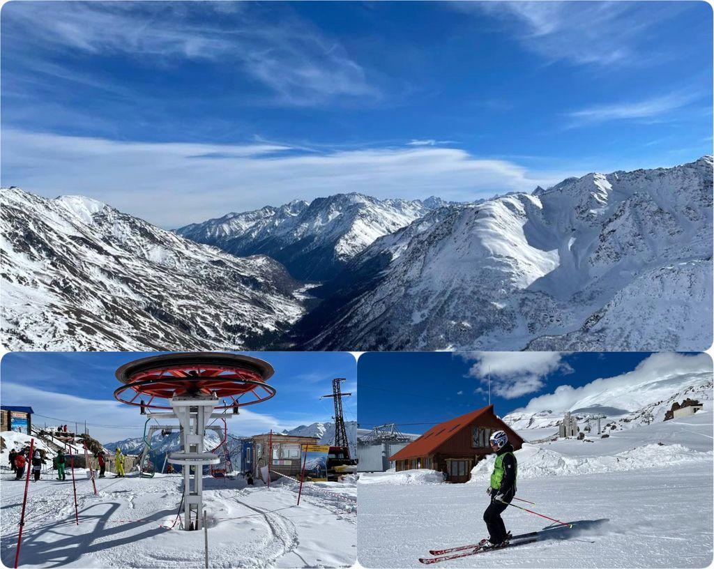 Горные лыжи Приэльбрусья