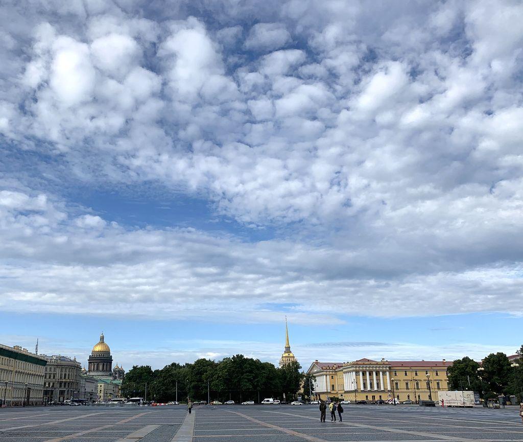 Питерское небо...