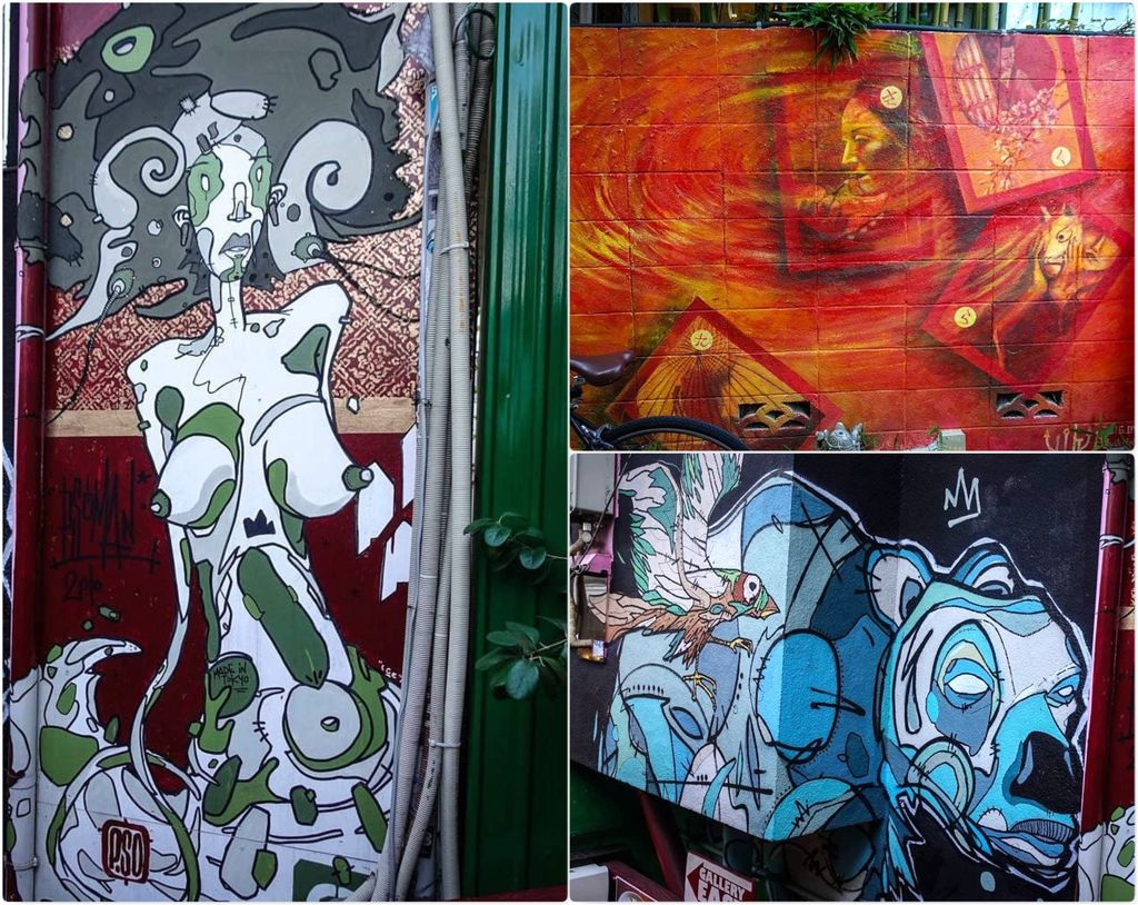 Граффити на улицах Токио