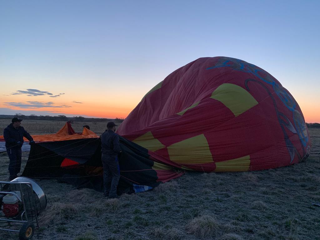 Путешествие на воздушном шаре и другие приключения