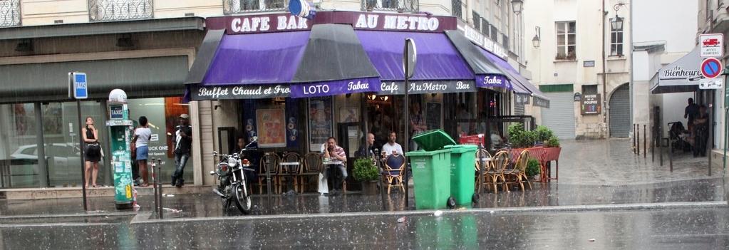 Парижский дождь