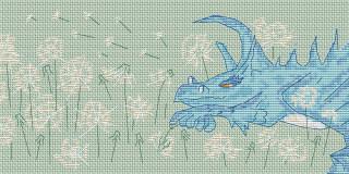 Нарисовала еще одного дракончика