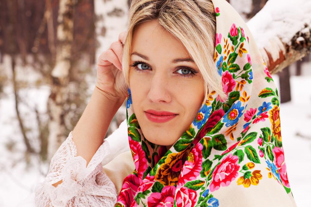 Славянская красота девушек