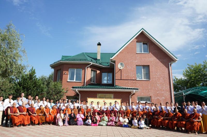 Мьянманский центр буддизма Тхеравады в подмосковной Балашихе.