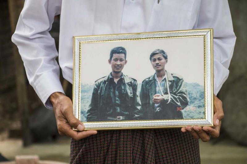 Члены группировки ABSDF, ставшие жертвами «охоты на ведьм» в ее рядах. Фото Frontier Myanmar.
