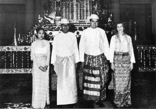 Nixons in Myanmar