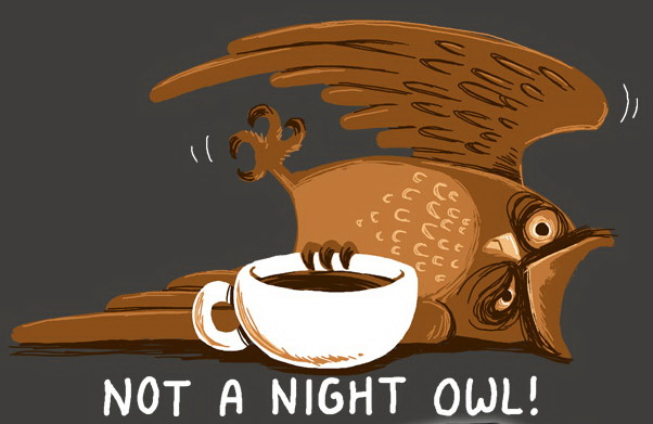 Not A Night Owl