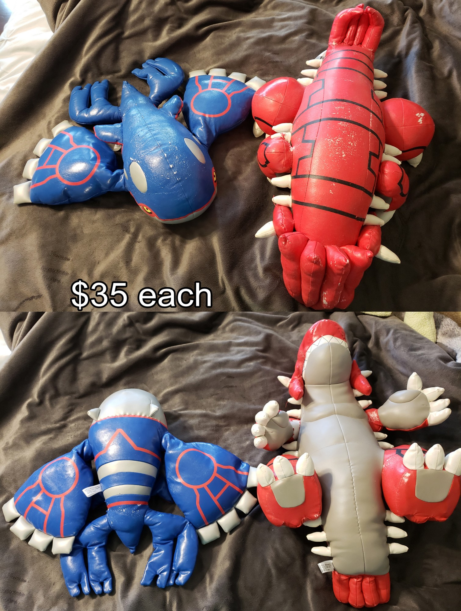 GROUDON SHEDS!!!!!!!! Kyogre not so much