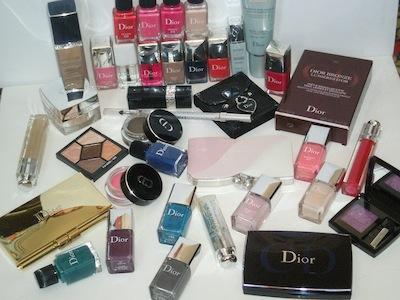 Dior косметика цены