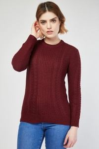 cable-knit-contrast-jumper-wine-112691-4
