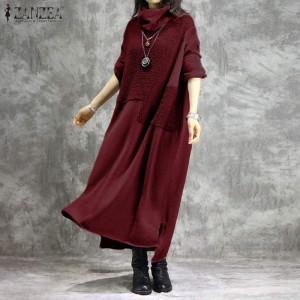 red maxi dress warm