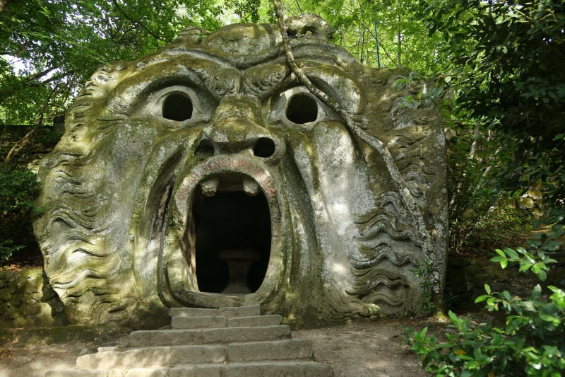 Сад Чудовищ в Бомарцо (Parco dei Mostri di Bomarzo)