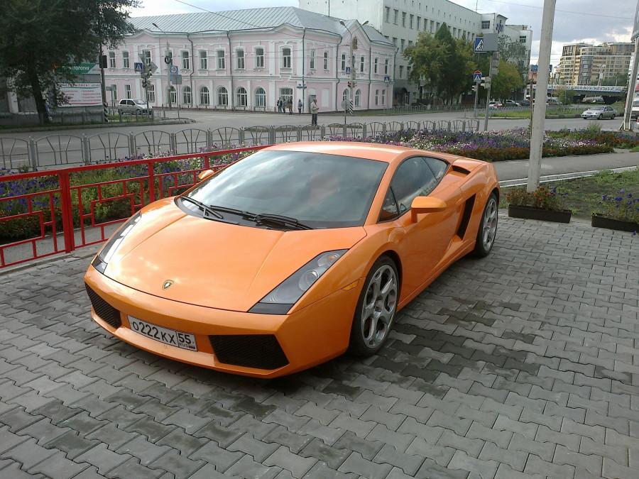 Lamborghini Gallardo в Омске