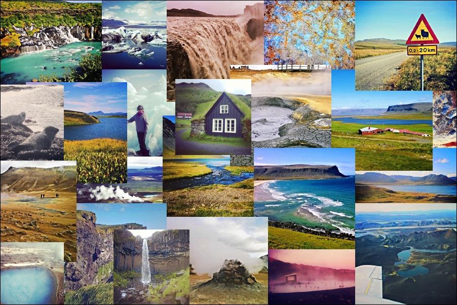 Коллаж-Исландия