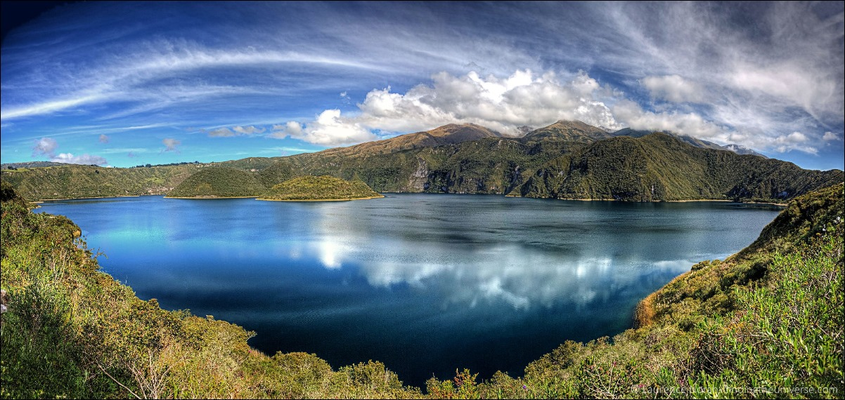 cuicocha lake otavalo panoramic scaled for web