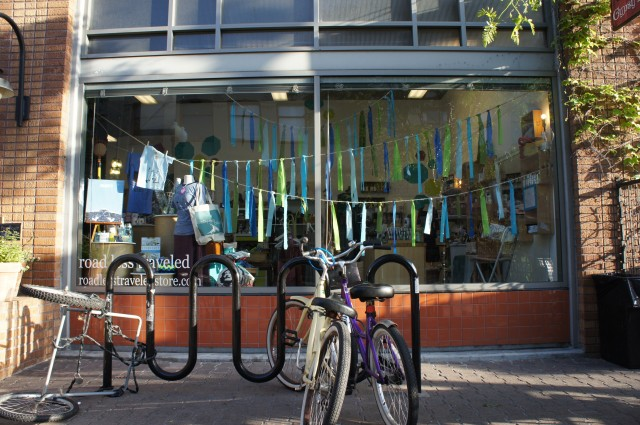 Road Less Traveled Store Summer 2012 Windows