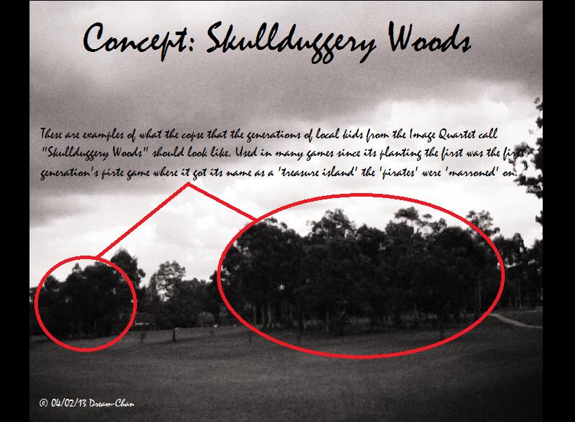 Concept 1 (Skullduggery Woods)