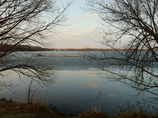 Saturday, March 17, south side of Lake Harriet