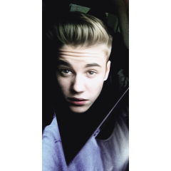 justin bieber icons with white border credits to