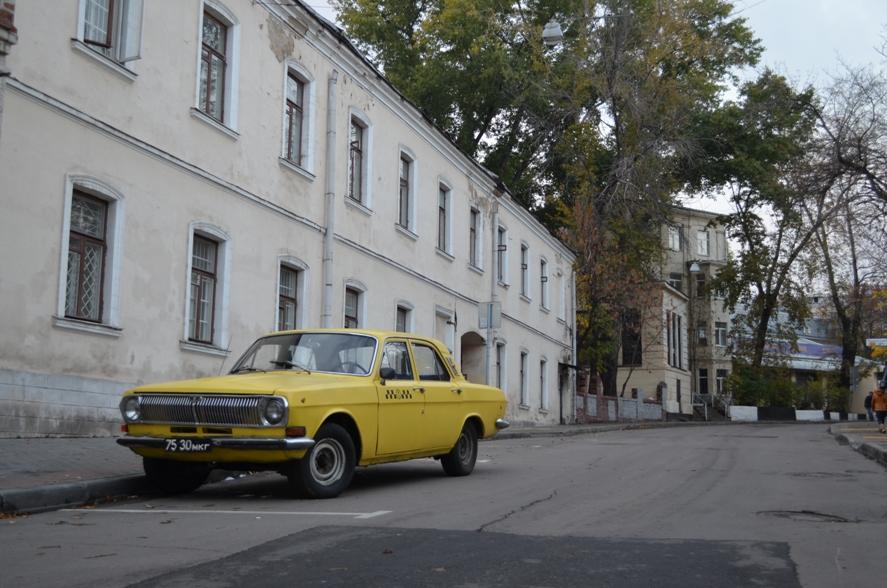 Москва 1970х в 2012
