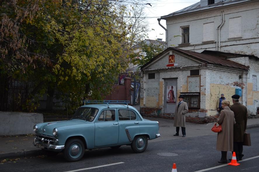 Москва 1970х в 2012г
