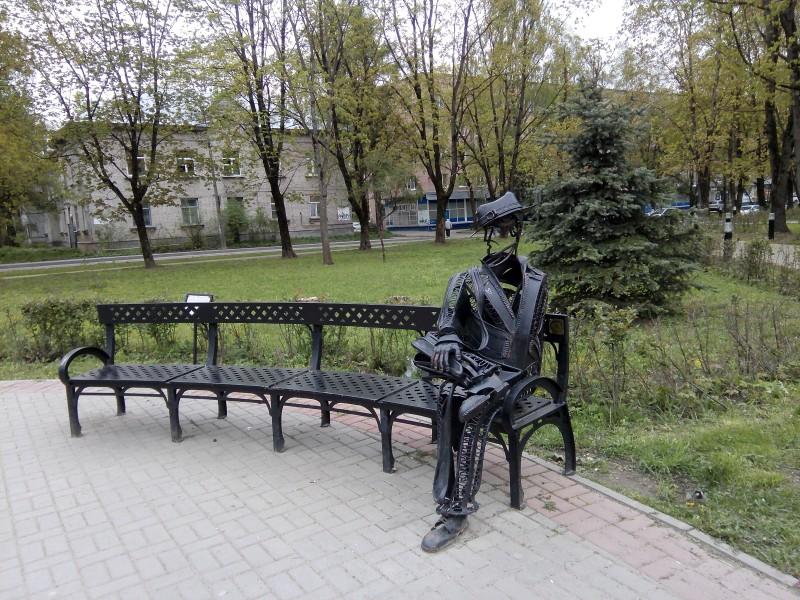 Он. Такая милая городская скульптура