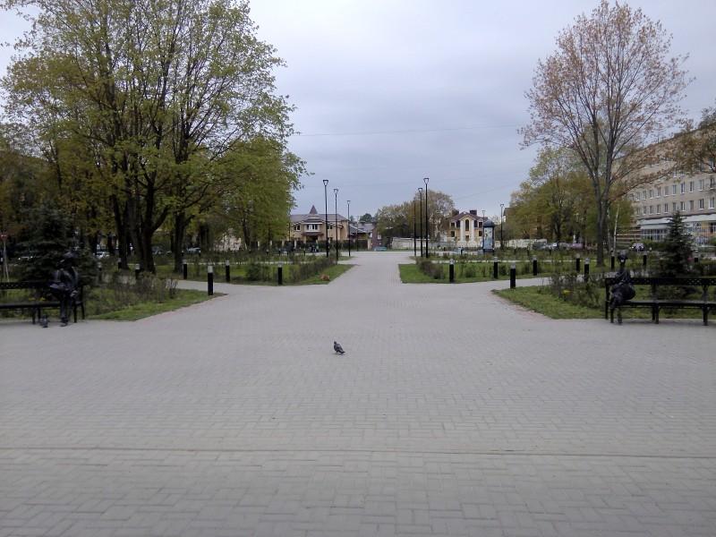 Пример организации городского пространства на месте пустыря