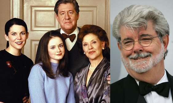 That Time George Lucas Stopped by the Gilmore Girls Set ...