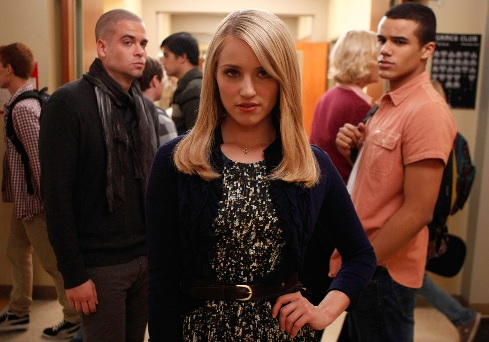 Glee Cast Didn't Want Dianna Agron in Cory Monteith Tribute