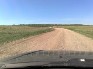 Полевая дорога ДымТамак-Кзыл-Яр