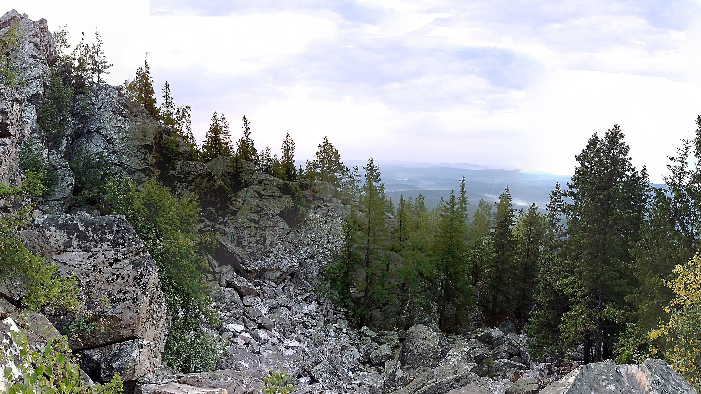Панорама с Александровской сопки