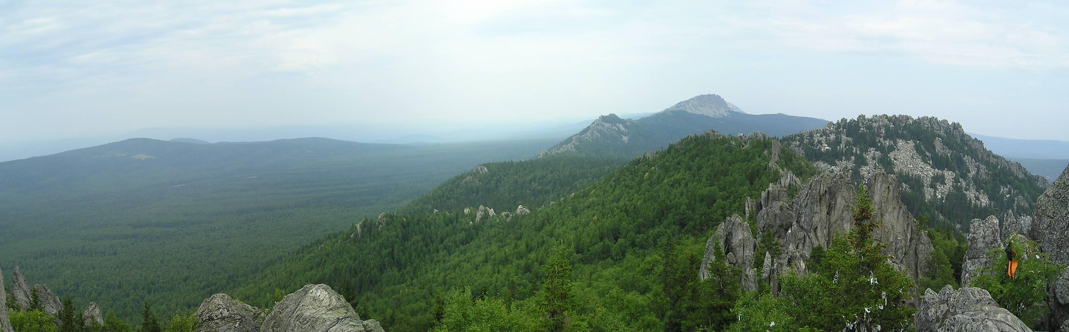 Панорама Таганая
