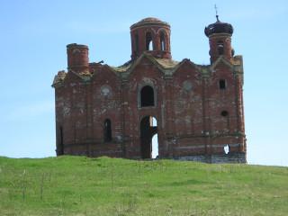 Репьевка, Владимирско-Богородицкая церковь
