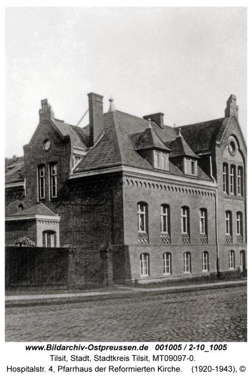 ID001005-Tilsit-Hospitalstr_4_Pfarrhaus_der_Reformierten_Kirche