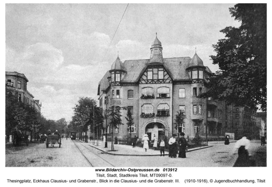 ID013912-Tilsit-thesingplatz_frauen1916Lit_jugendbuchhandlung
