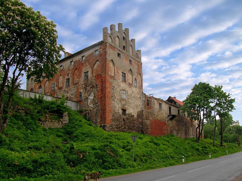 Современный замок дворец фото непрезентабельный