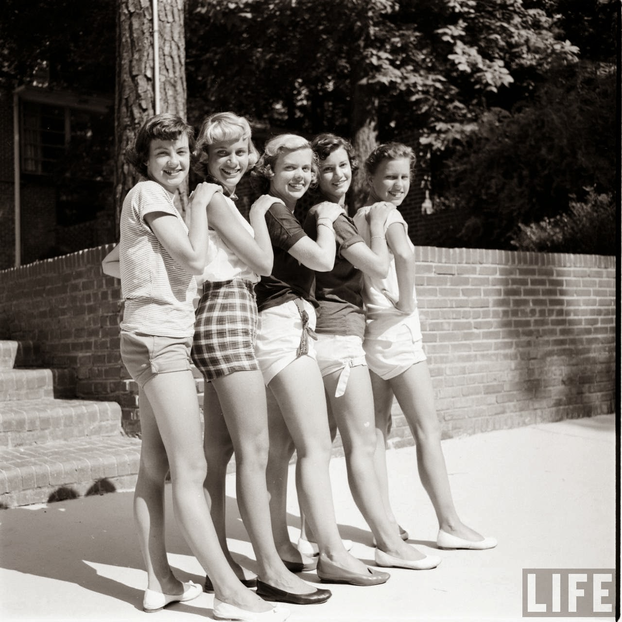 Short Shorts in the 1950's (19)