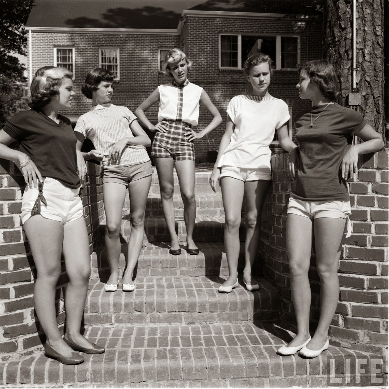 Short Shorts in the 1950's (22)