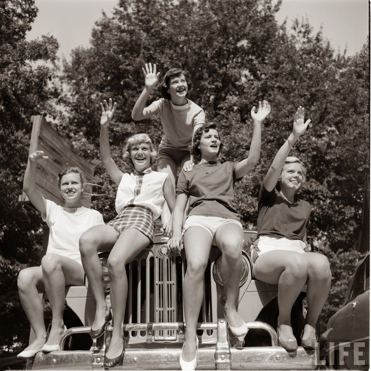Short Shorts in the 1950's (23)