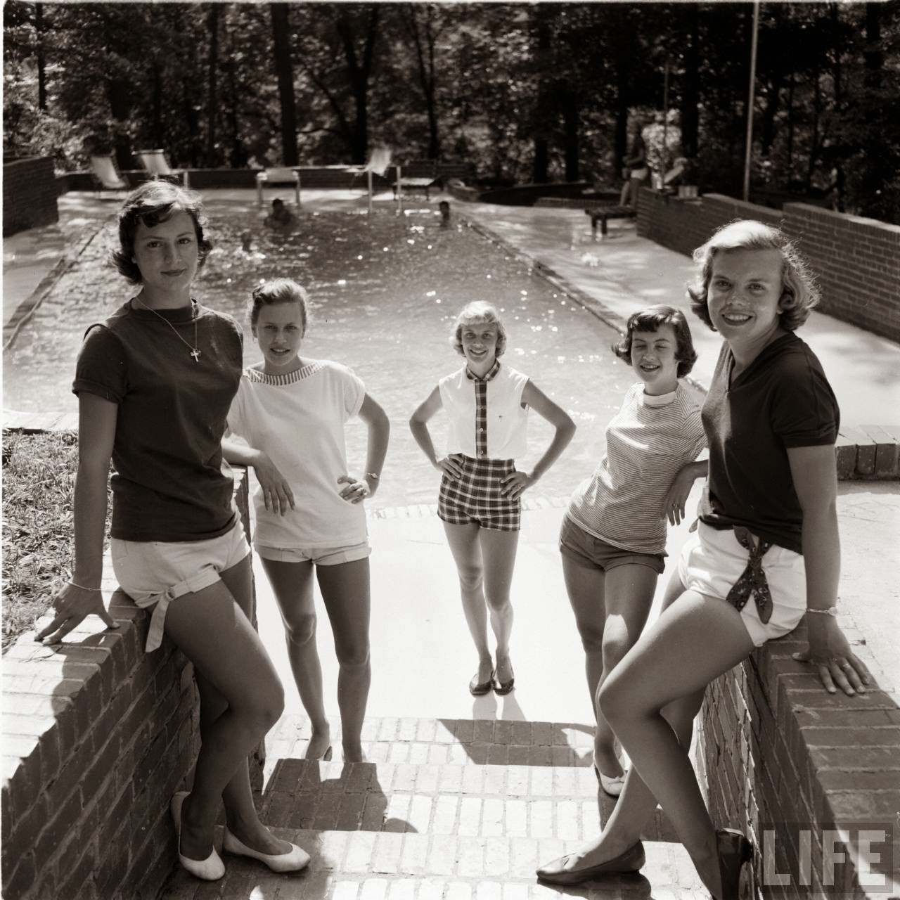 Short Shorts in the 1950's (24)