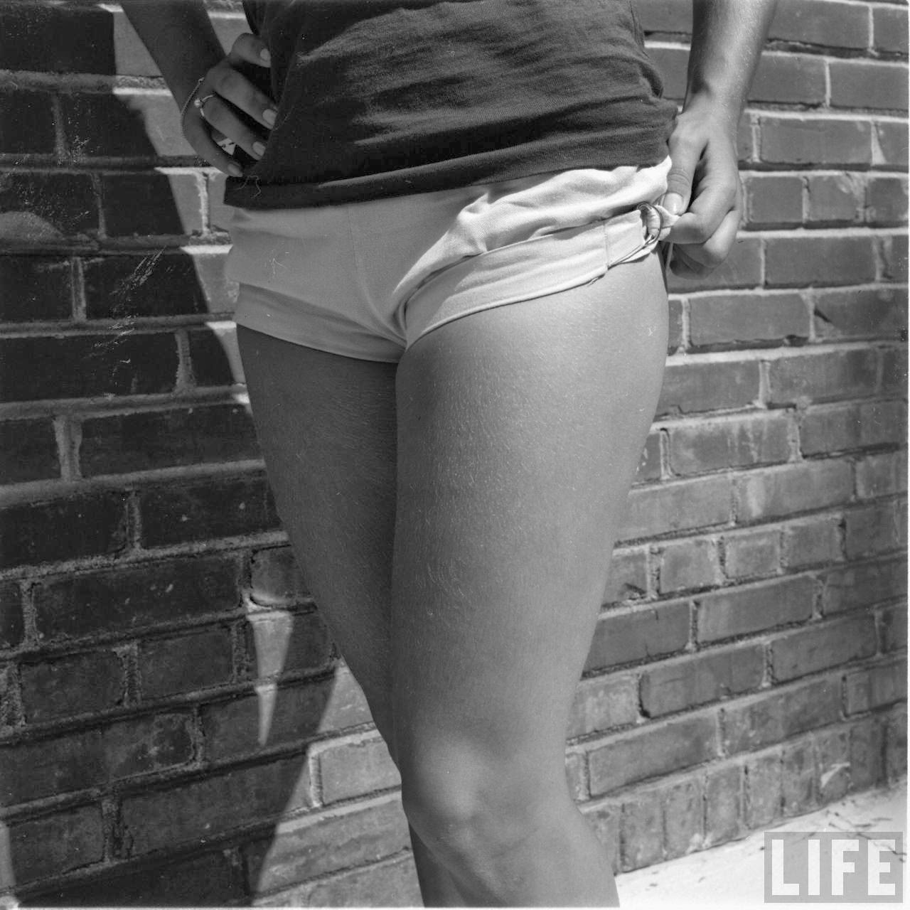 Short Shorts in the 1950's (1)