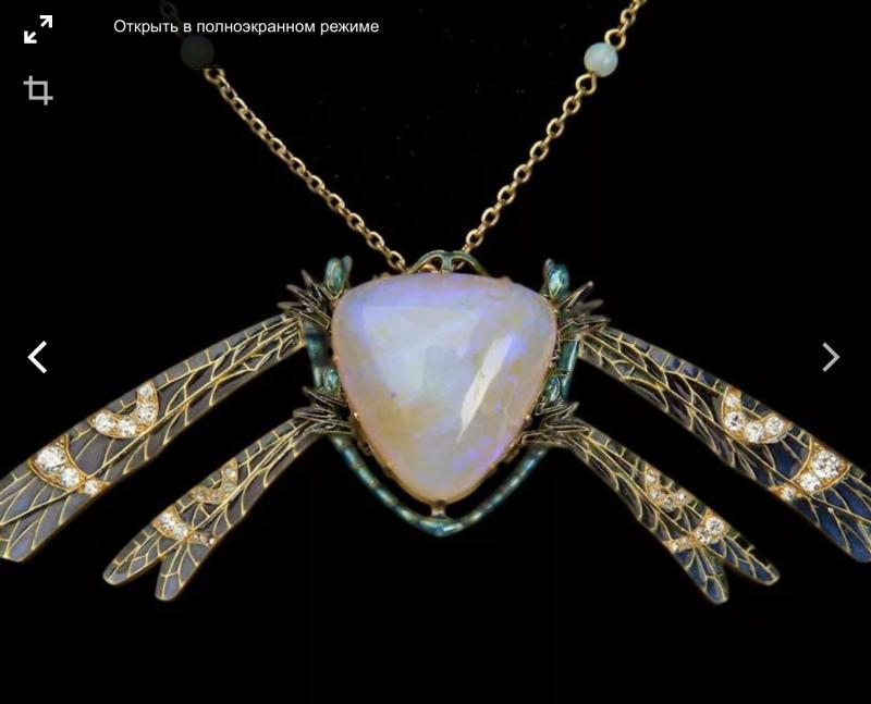 Рене Лалик очень любил использовать в своих украшениях благородные опалы! Они придают загадочность и хорошо сочетаются с бриллиантами и другими  ювелирными камнями!